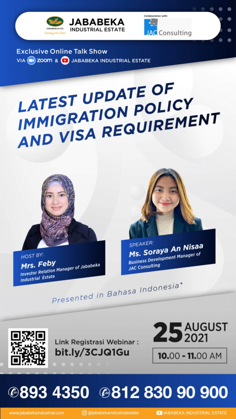 Latest Update of Immigration Policy & Visa Requirement