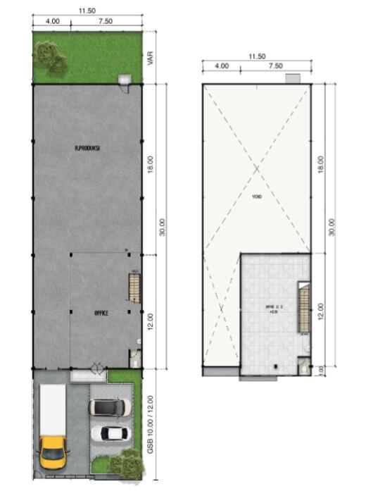 jababeka-industrial-three-in-one-building-floor-plan